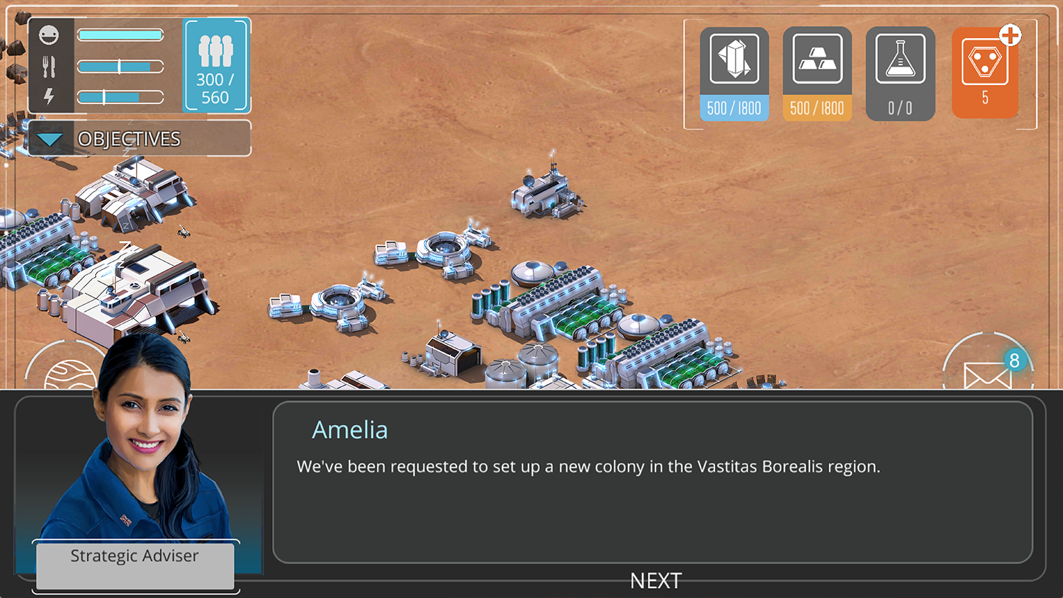 Screenshot of Specialist dialogue box prompting user to action.